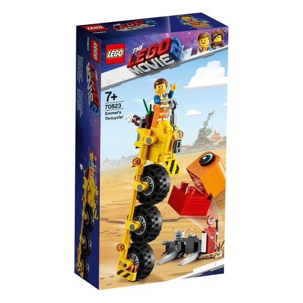 Lego Movie Emmets Thricycle!  Lm2 Offer