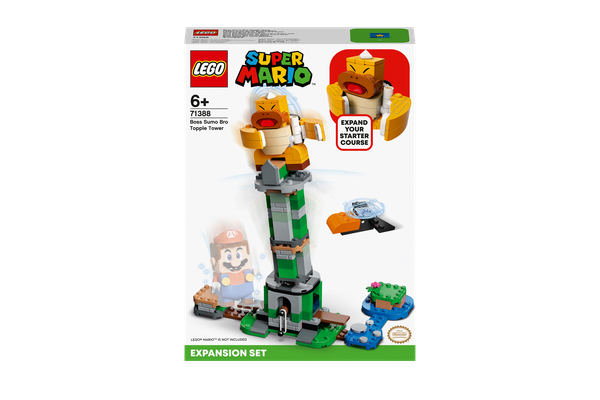 Lego Boss Sumo Bro Topple Tower Expansion Set