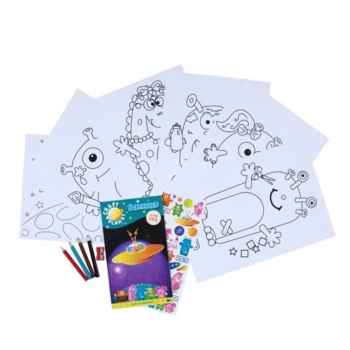 Fun Activity Pack-space Cadet