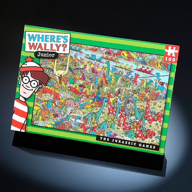 Wheres Wally 100pc The Jurassic Games