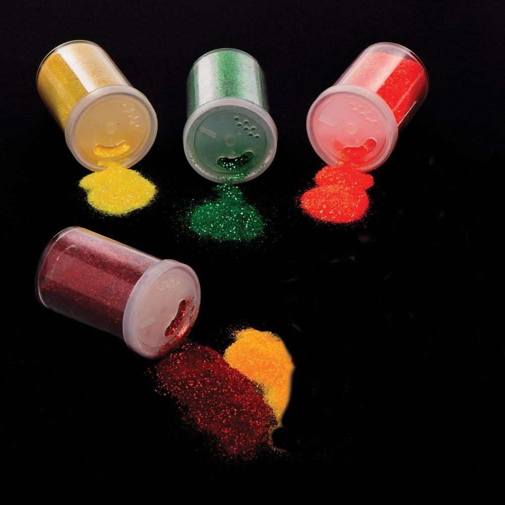 Autumn Glitter Shakers (pack Of 5)