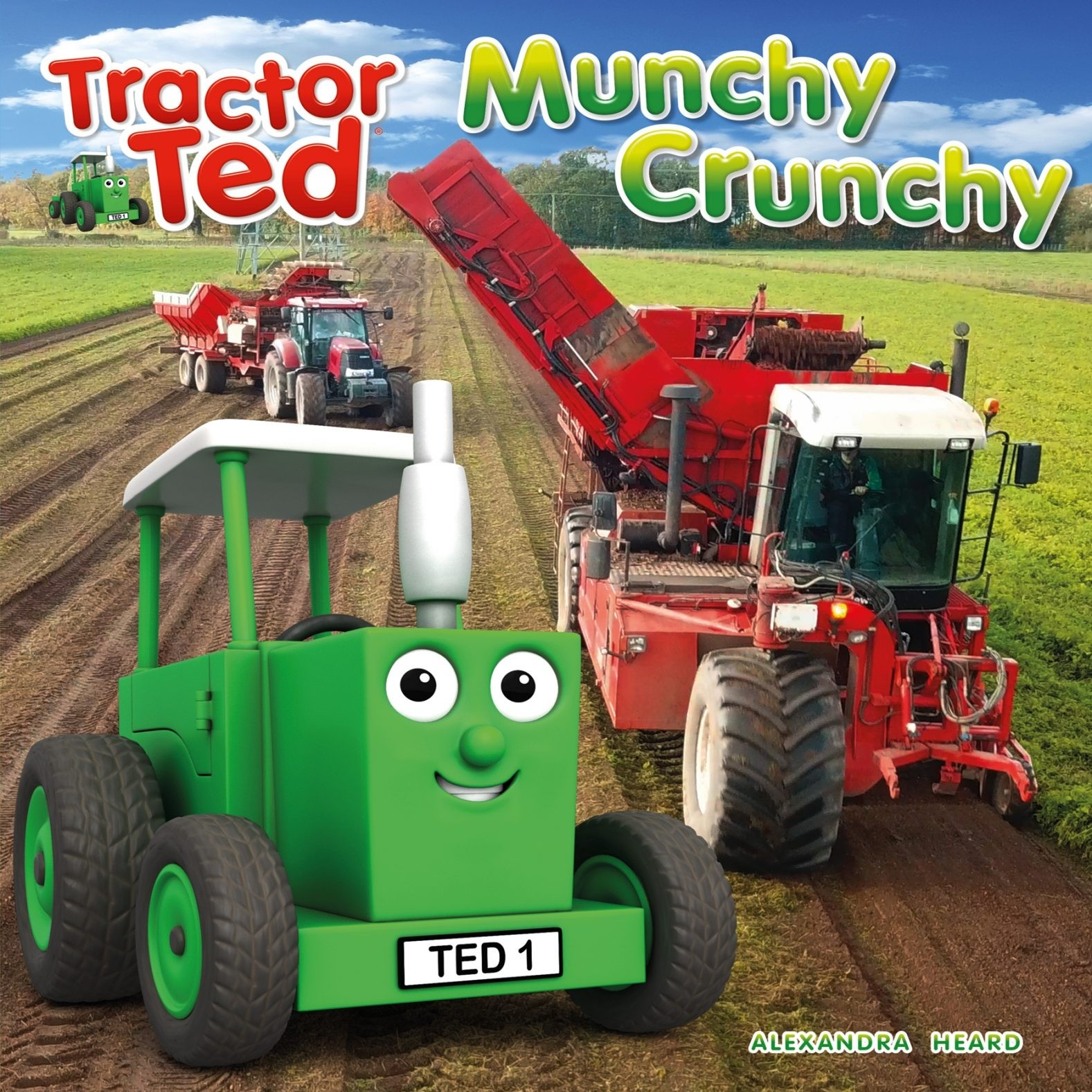 Tractor Ted Book  - Munchy Crunchy