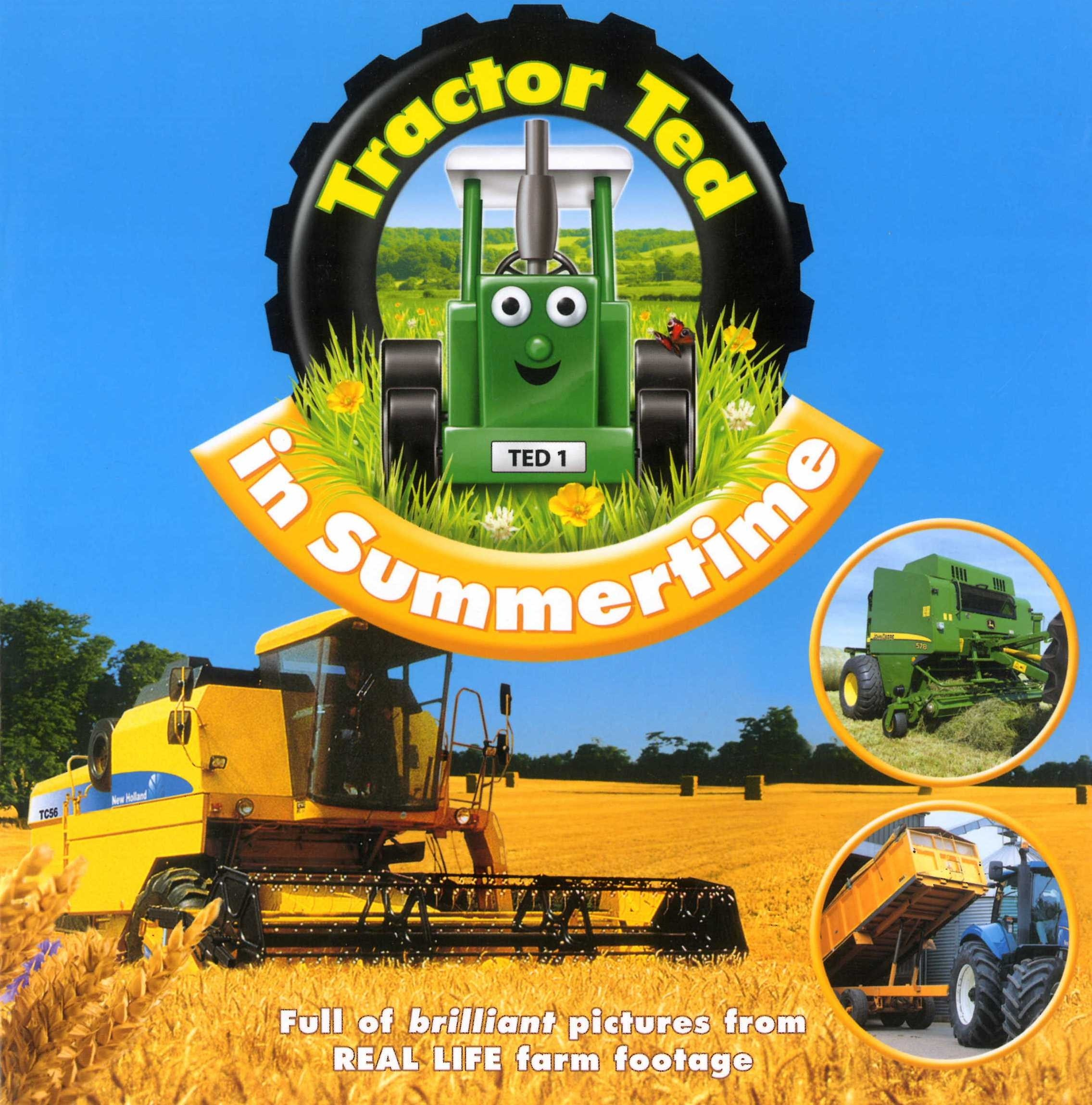 Tractor Ted Book- Summertime