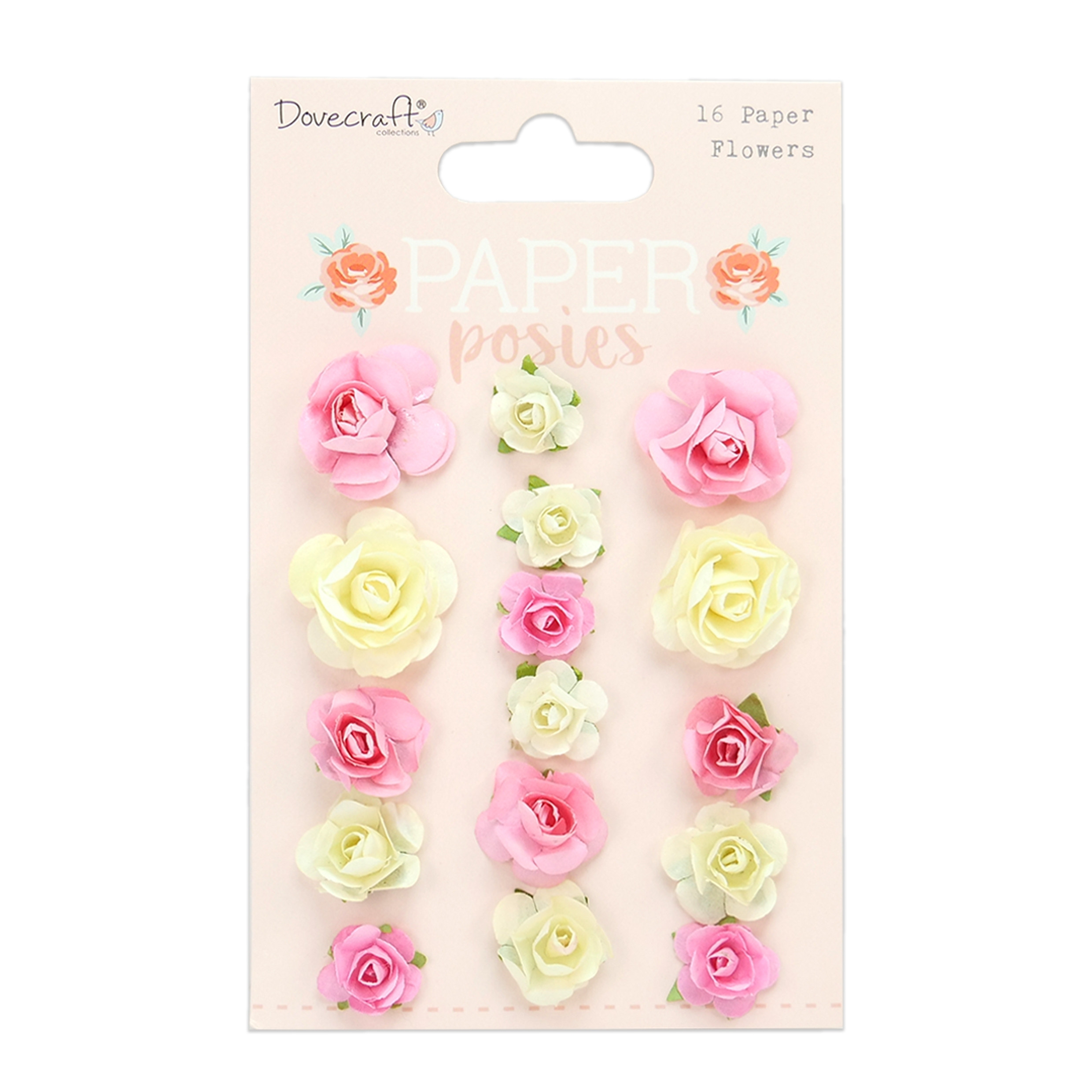 Dovecraft Paper Posies Paper Flowers