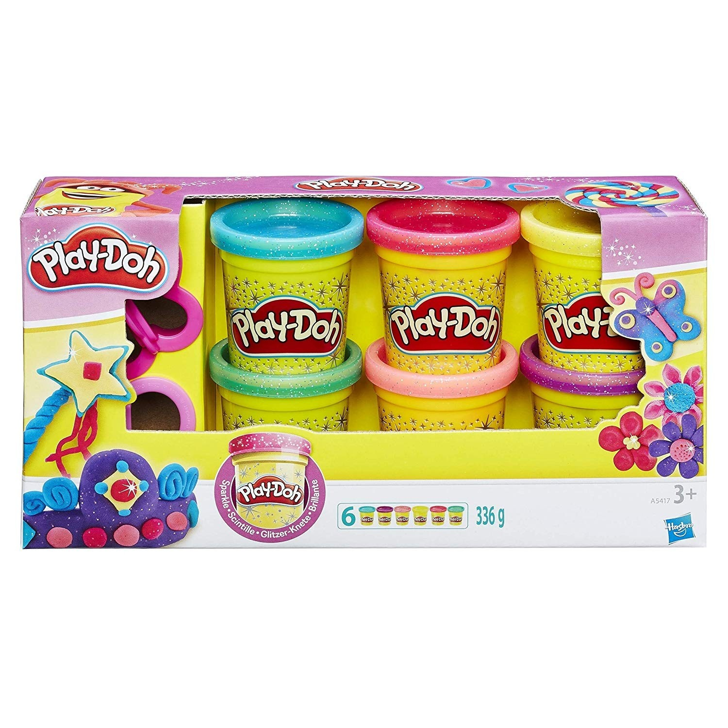 Play -doh Sparkle Compound Collection
