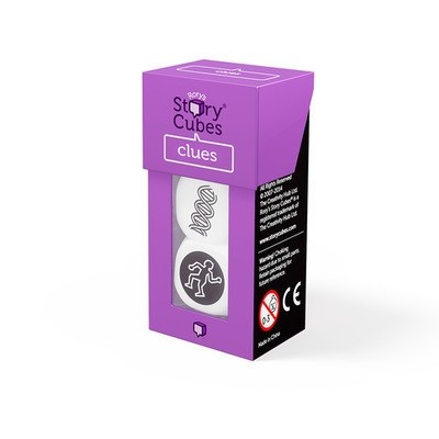 Rory Story 3 Cubes  -clue (purple)