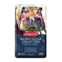 Derwent W/col Collection Tin 12 *