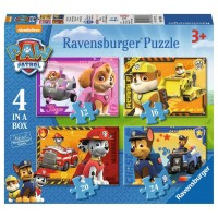 Paw Patrol 4 In A Box