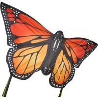 Monarch Butterfly Kite Red Lrg