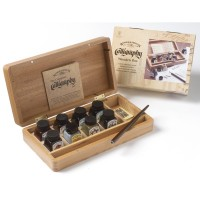 Calligraphy Wooden Box Set *