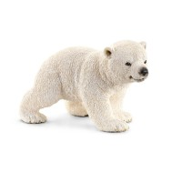 Schleich  Polar Bear Cub , Walking