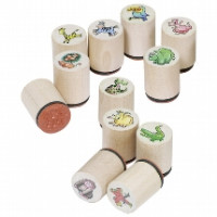 Mini Wooden Stamps