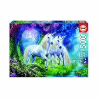 500pc Unicorns In The Forest