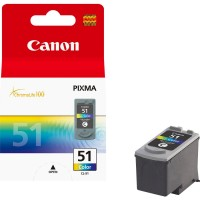 Canon Cl -51 High Yield C/m/y Colour Ink Cartridge