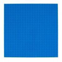 """Stackable Baseplate10"""" X 10"""" blue 1 Pack"""
