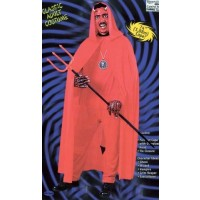 Hooded 173cm Cape Red