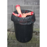 Bloody Body Parts Bin Cover