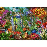 6000pc -tropical Green House