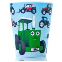 Tractor Ted Bamboo Beaker -tractor