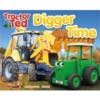 Tractor Ted Book -digger Time