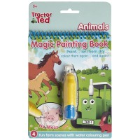 Tractor Ted Magic Painting Book -animals