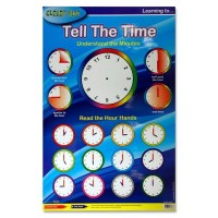 Wall Chart- Learn The Time
