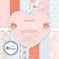Dovecraft Paper Posies 6x6 Paper Pack