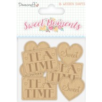 Dc  Sweet Moments Wooden Sentiments