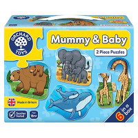 Orchard Toys - Mummy & Baby 2pc Puzzle