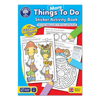 Colouring Book  - More Things To Do