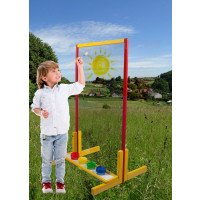 Standing Board Easel with safety Glass