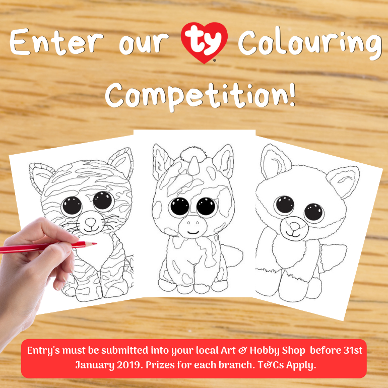 TY Colouring Competition